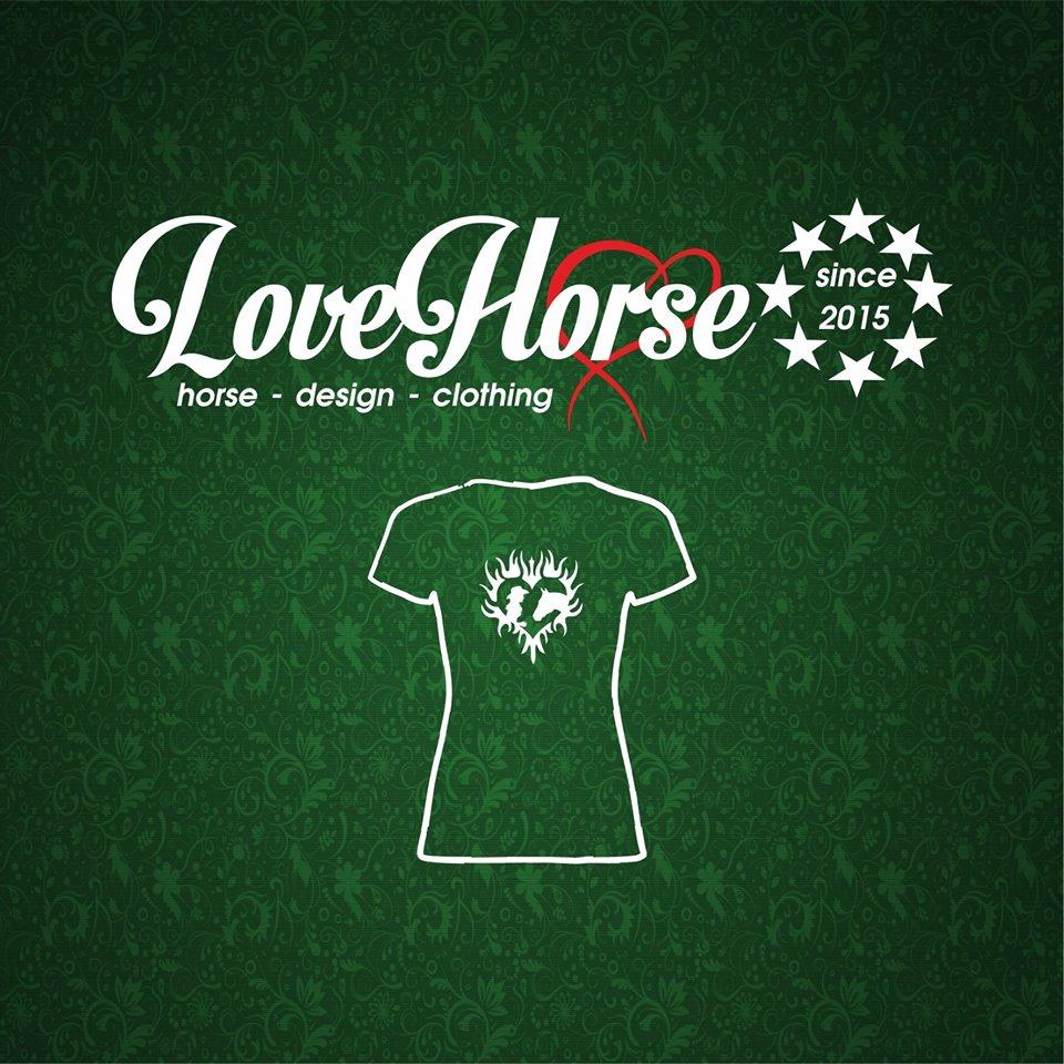LoveHorse - Potisk na oblečení